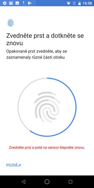 Čtečka otisku prstů mobil Asus Zenfone Max pro M1 06