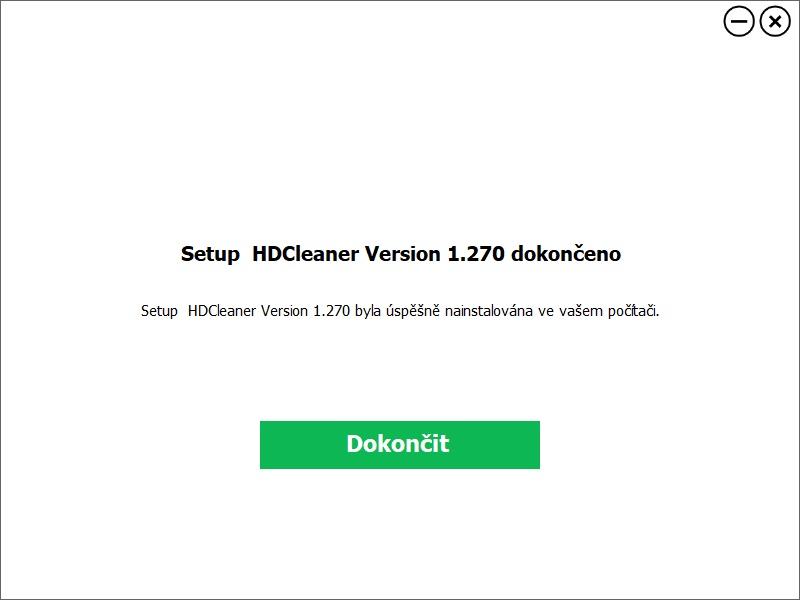 HDCleaner 03