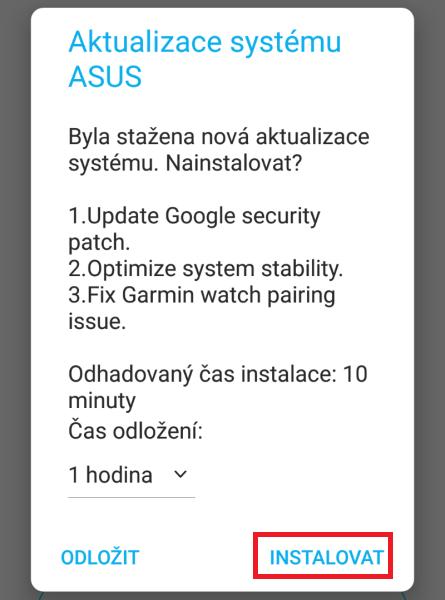 Jak aktualizovat Android 8 na verzi 9 - 04