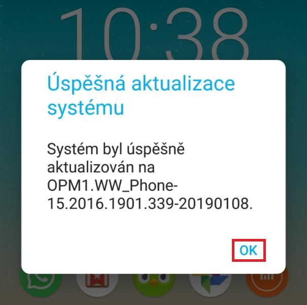Jak aktualizovat Android 8 na verzi 9 - 05