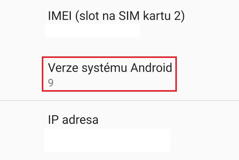 Jak aktualizovat Android 8 na verzi 9 - 13