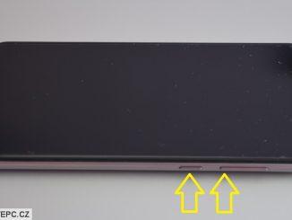 Jak vyfotit display na mobilu Asus Zenfone Max Pro M1
