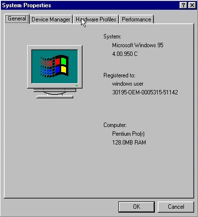 Windows 95 - 4
