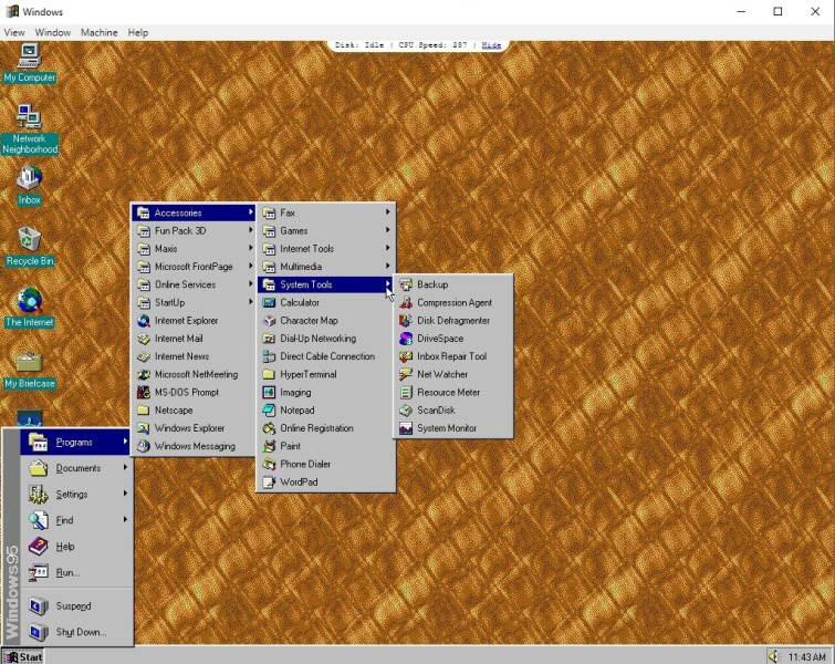 Windows 95 - 7