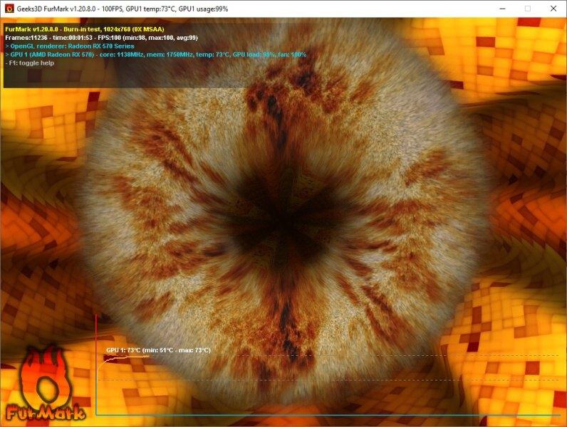 Geeks 3D Furmark 06