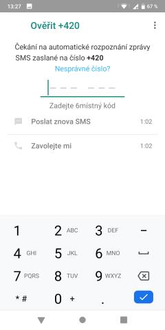 Jak nainstalovat WhatsApp do mobilu 06