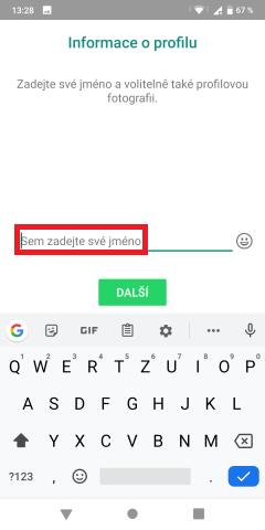 Jak nainstalovat WhatsApp do mobilu 08