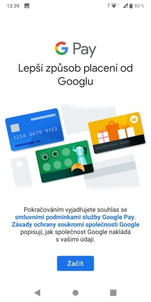 Jak platit mobilem pomocí Google Pay 08