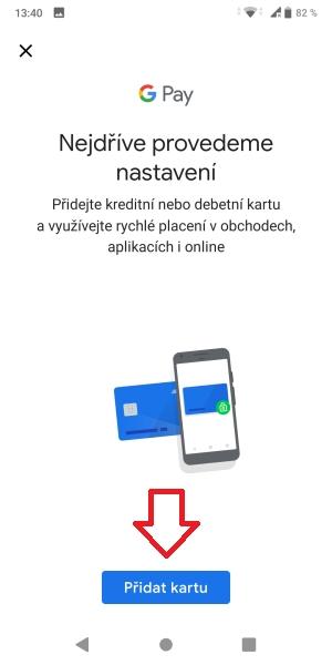 Jak platit mobilem pomocí Google Pay 09