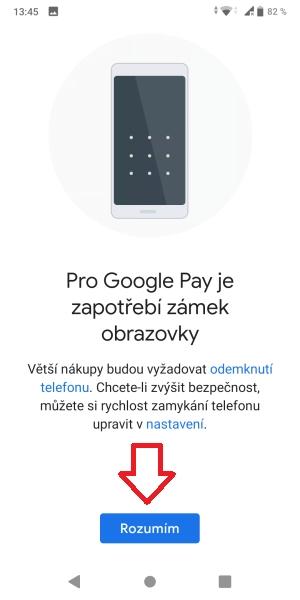 Jak platit mobilem pomocí Google Pay 12