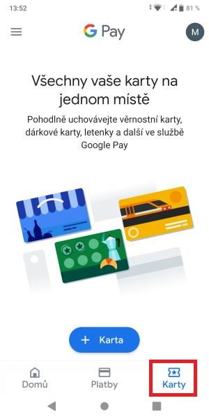 Jak platit mobilem pomocí Google Pay 13