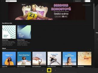 Spotify aplikace 8