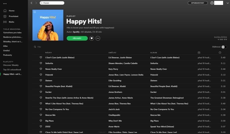 Spotify aplikace 12