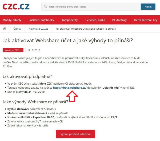 Webshare kupón 2