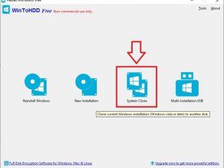 WinToHDD - program na klonování pevného disku zdarma 5