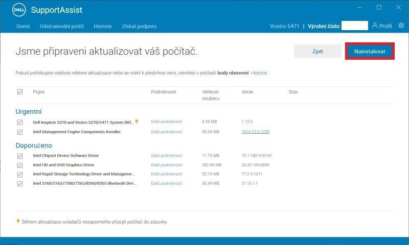 Dell Support Assist 4