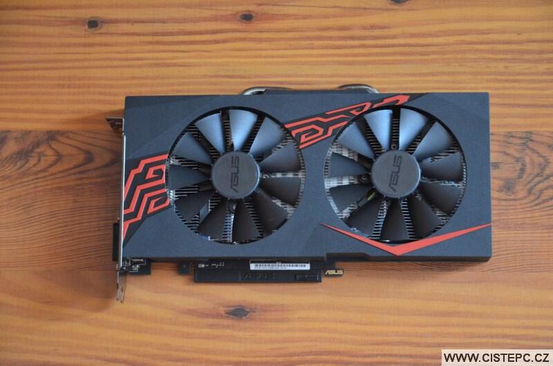 Grafická karta Asus Radeon RX 570 4gb - 4