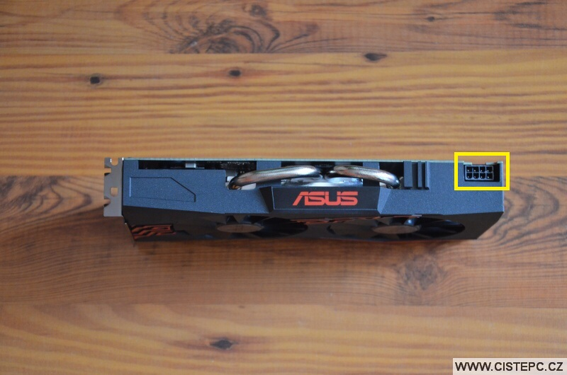 Grafická karta Asus Radeon RX 570 4gb - 6
