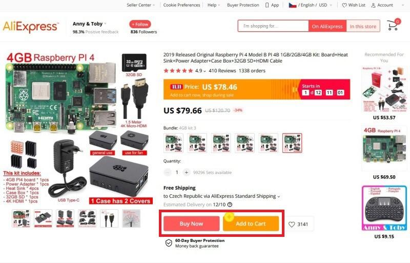 Jak nakupovat na Aliexpress 5