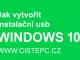 Jak vytvořit instalační usb Windows 10 pomocí nástroje Media Creation Tool