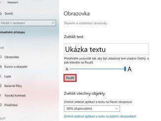 Jak zvětšit písmo na monitoru ve Windows 10 - 3