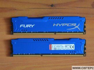 Operační paměť ram 16GB Fury Hyper X