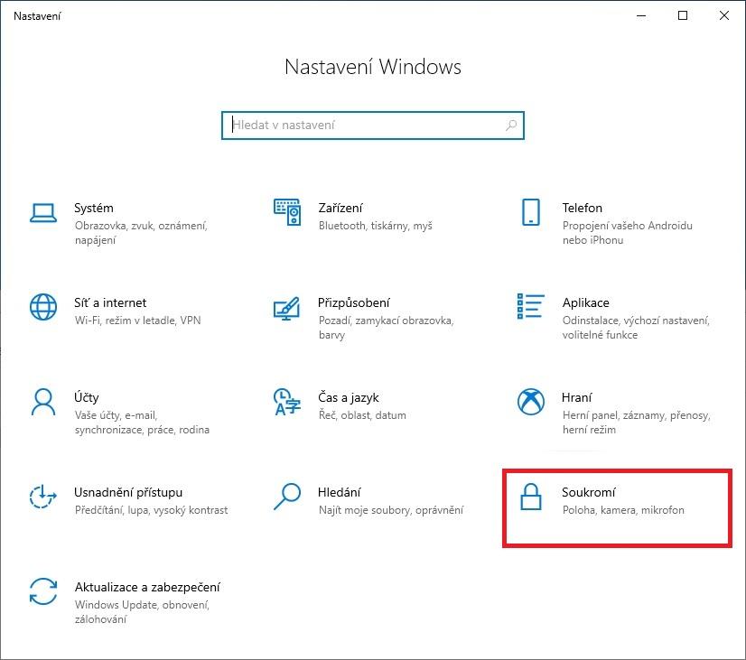 Jak zapnout mikrofon ve Windows 10