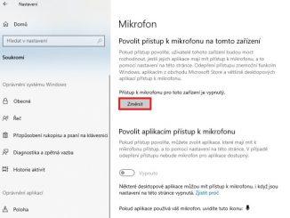 Jak zapnout mikrofon ve Windows 10 - 1