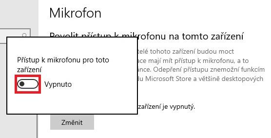 Jak zapnout mikrofon ve Windows 10 - 2
