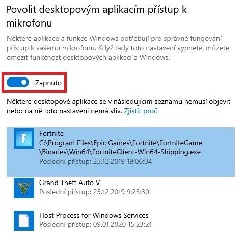 Jak zapnout mikrofon ve Windows 10 - 4