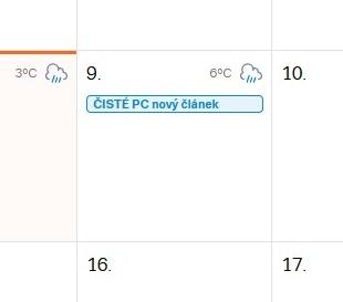 Seznam kalendář 5