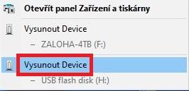 Bezpečné odebrání disku ve Windows 10 - 2