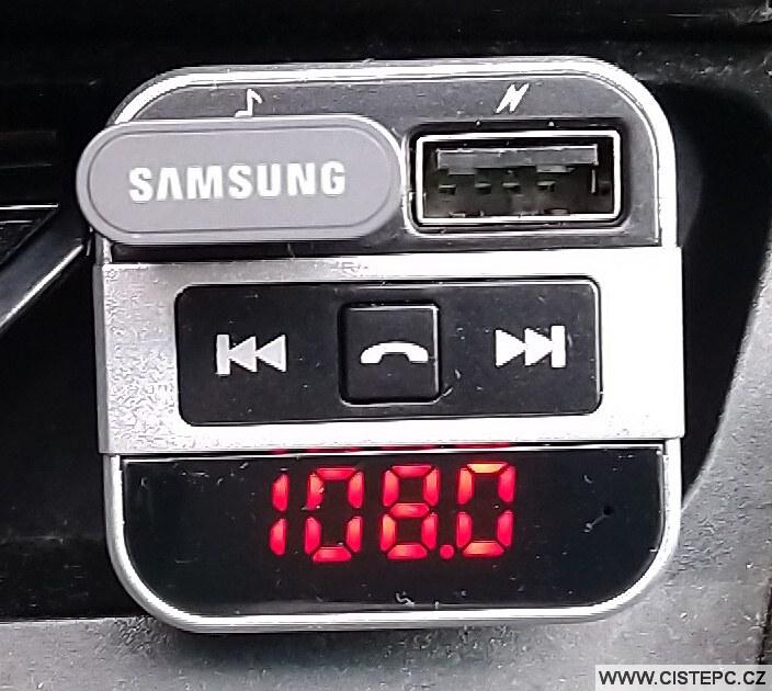 Fm transmitter - výchozí frekvence