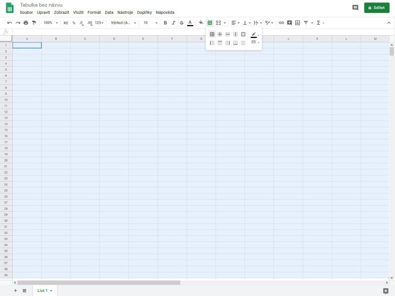Jak vytvořit tabulku Google 4