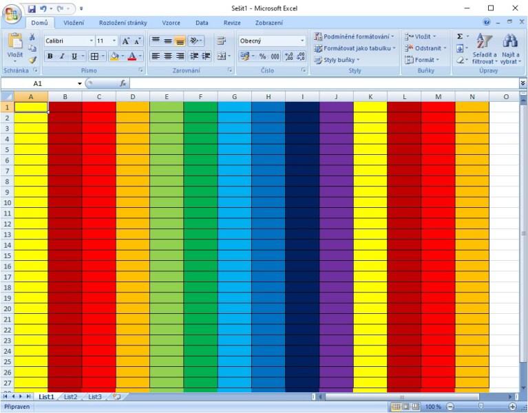Jak vytvořit tabulku v Excelu