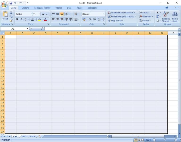 Jak vytvořit tabulku v Excelu 2