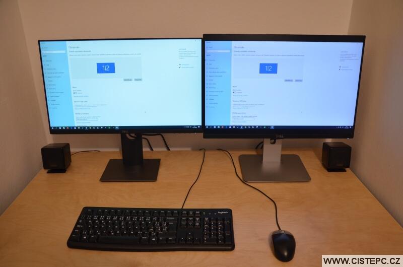 2 monitory u pc - duplikovaný obraz