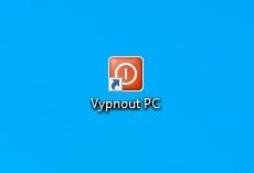 Ikona pro rychlé vypnutí PC