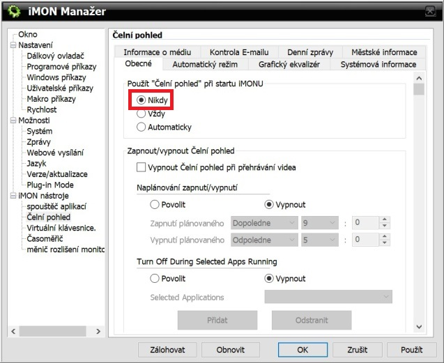 Imon manager 4