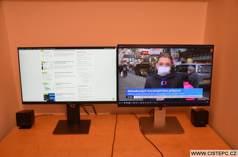 Jak nastavit dva monitory na pc