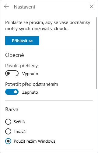 Rychlé poznámky ve Windows 10 - 3