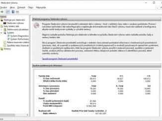 Sledování výkonu pc - Windows 10 - 2