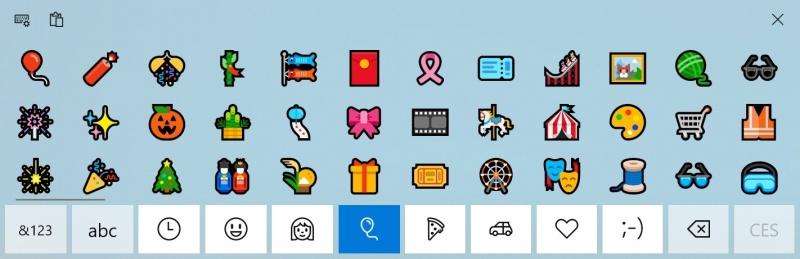 Smajlíky Windows 10 - 4