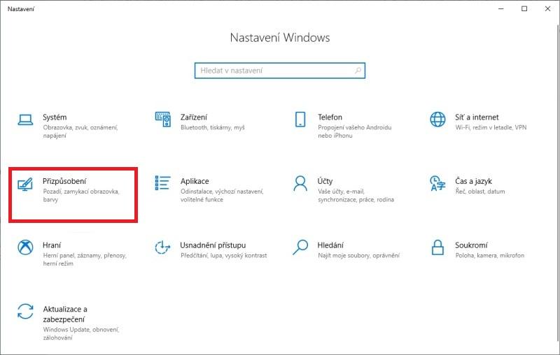 Tmavý režim Windows 10 - 1