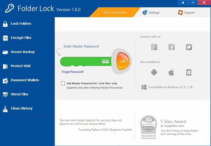 Folder lock 4