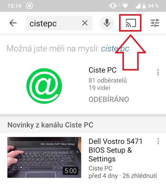 Jak propojit mobil s Tv 1