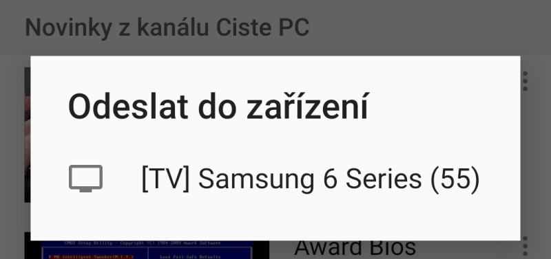 Jak propojit mobil s Tv 2