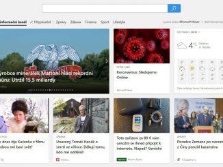 Microsoft Edge v češtině