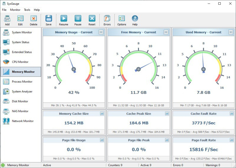Sysgauge - system monitor 7