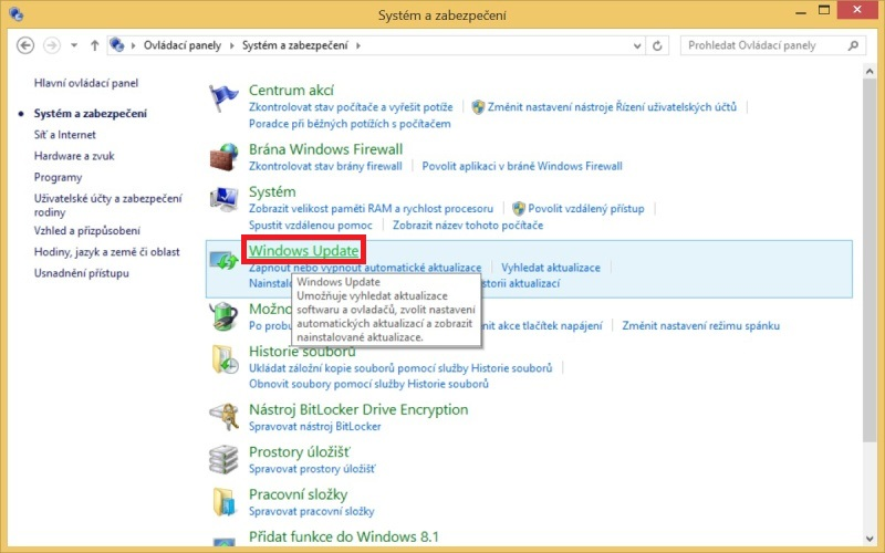 Windows 8.1 aktualizace 3
